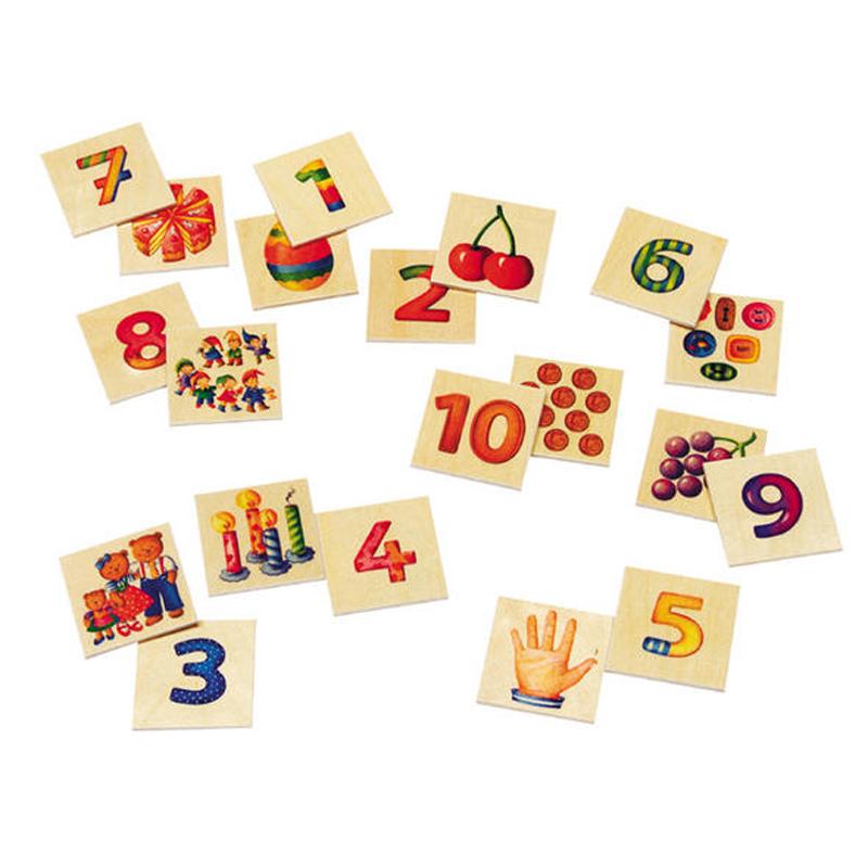 Παιχνίδι αριθμών 1-10 - Numero