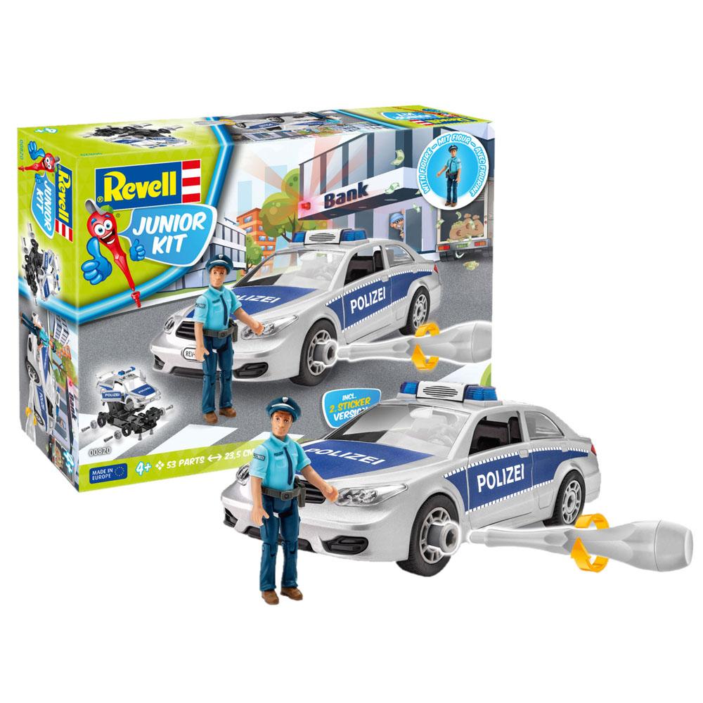 Περιπολικό αστυνομίας & αστυνομικός