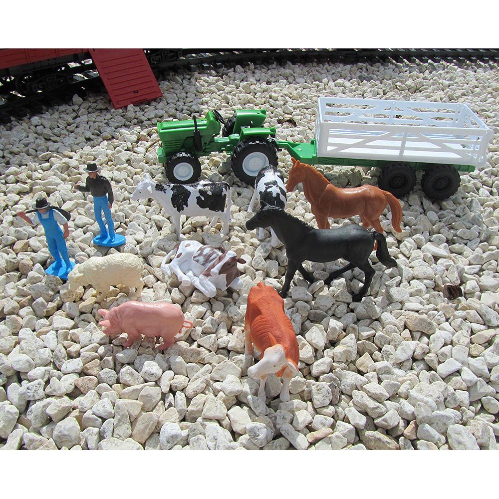 Τρένο μπαταρίας με φάρμα