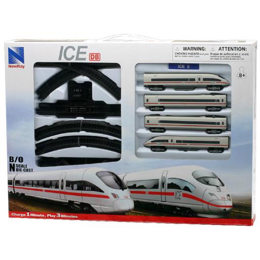 Τρένο μπαταρίας με γραμμές - ICE 3
