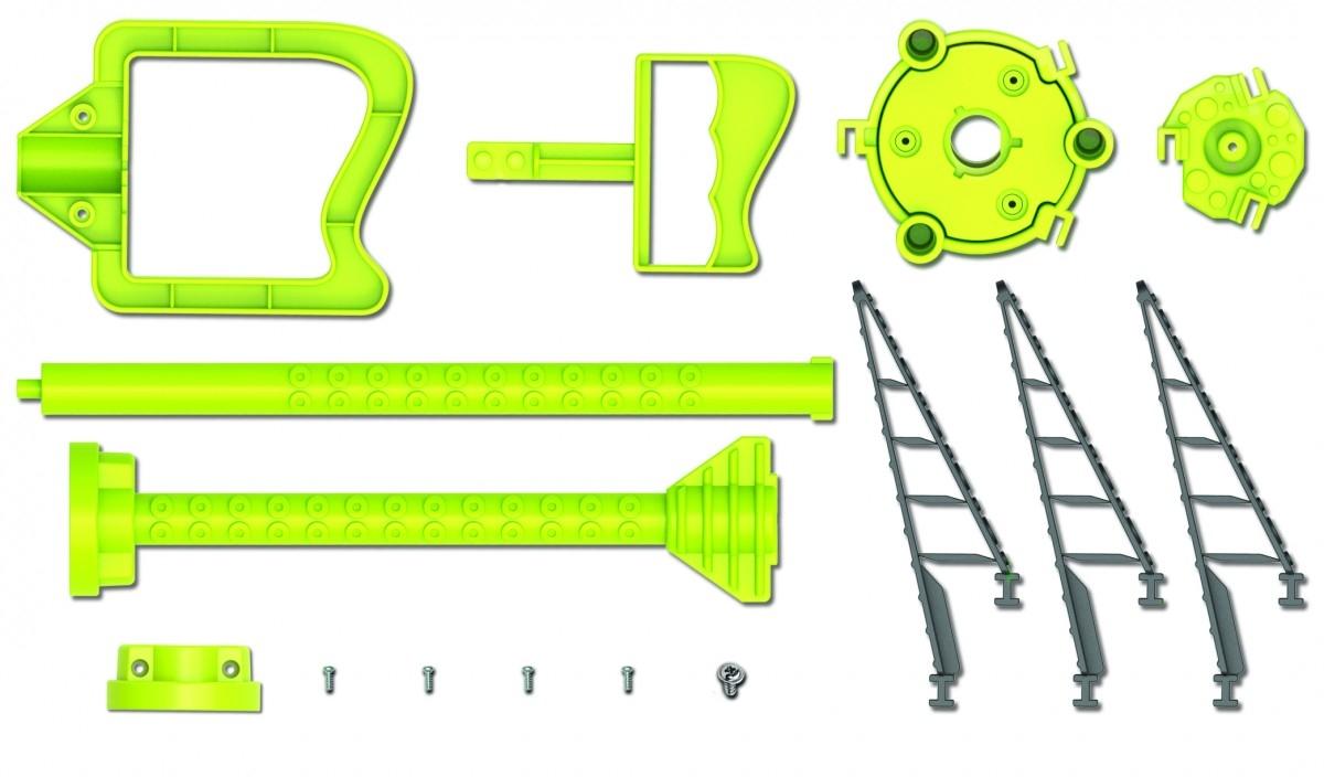 Ρομποτική δαγκάνα Χταπόδι κατασκευή