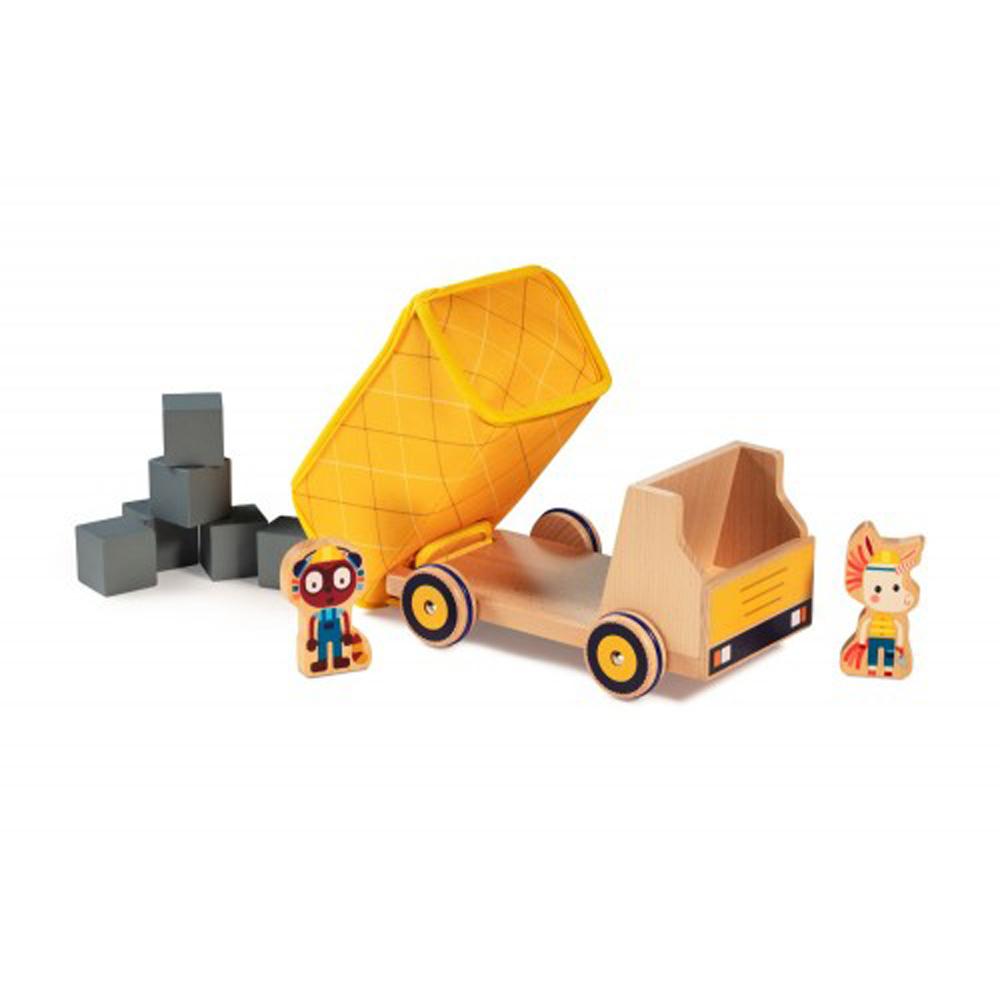 Φορτηγό ανατρεπόμενο ξύλινο