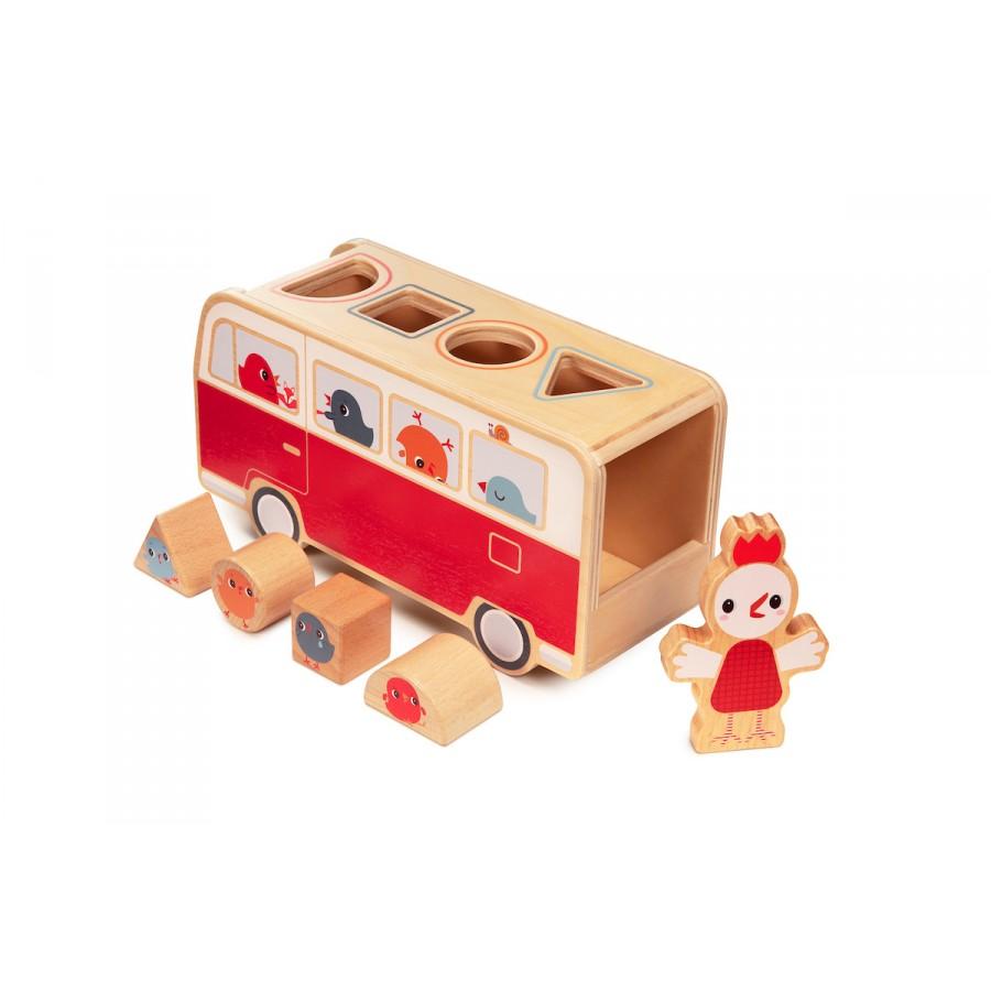 Λεωφορείο με σχήματα