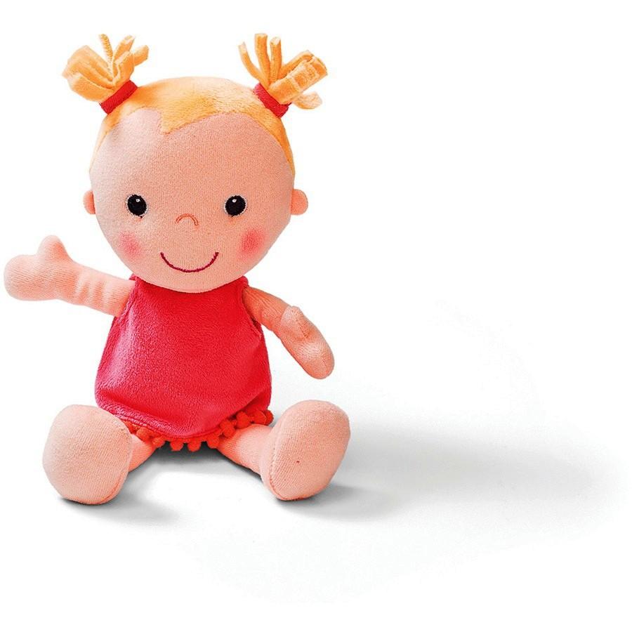 Κούκλα υφασμάτινη  Λουίζα 27εκ.με πόρτμπεμπέ