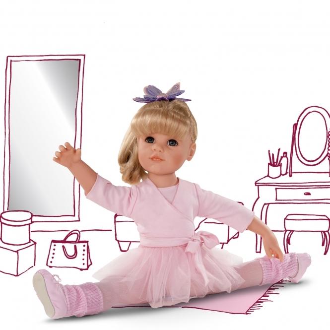 Κούκλα Goetz Μπαλαρίνα και φόρεμα 50εκ.Χάνα