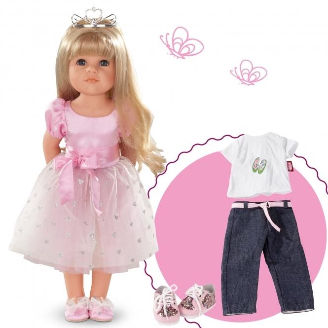 Κούκλα Goetz Πριγκίπισσα και φόρεμα 50εκ. Χάνα