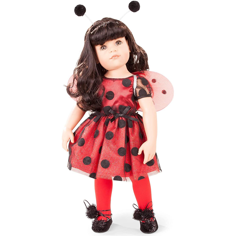 Κούκλα Goetz - Χάνα Ladybug 50εκ. + φόρεμα