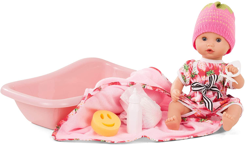 Κούκλα Goetz - Μωρό 33εκ.με μπανιέρα