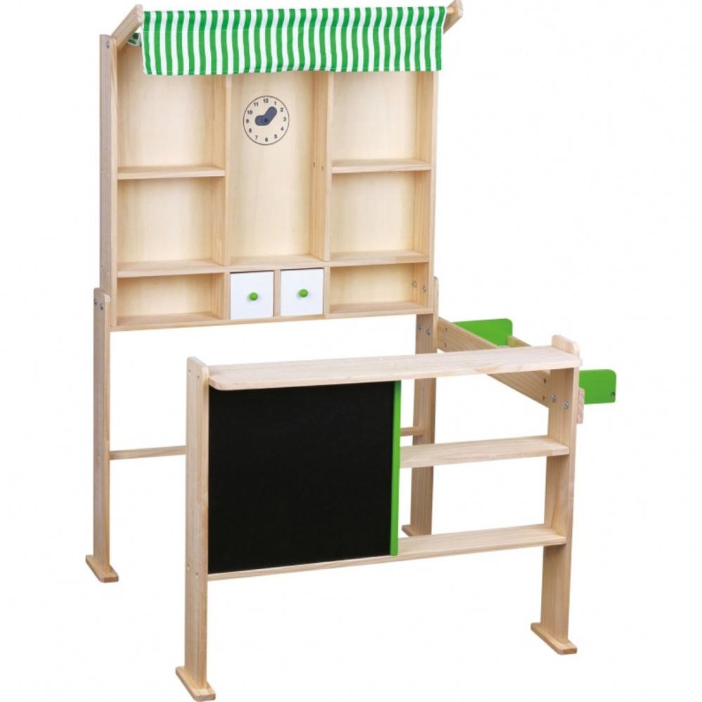 Μαγαζάκι ξύλινο με πίνακα