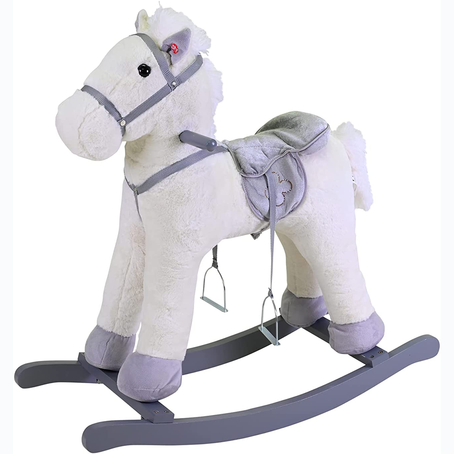 Άλογο κουνιστό με ήχο Edda