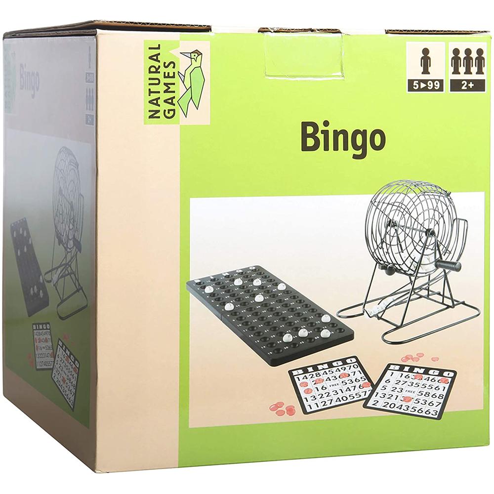 Bingo με Τροχό μεταλλικό