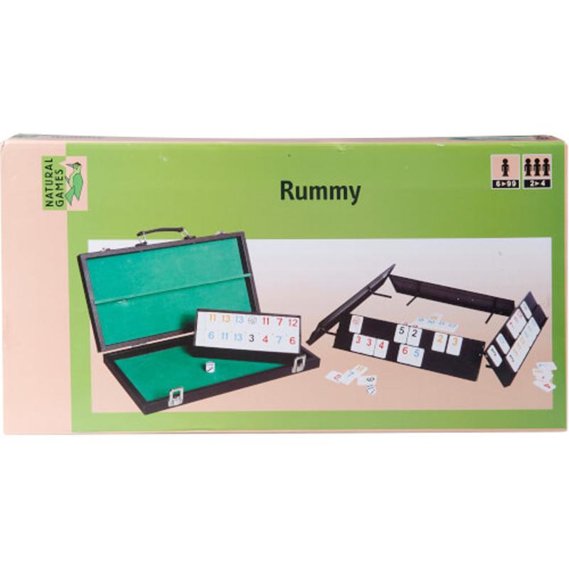 Rummy ή Rummikub σε βαλιτσάκι