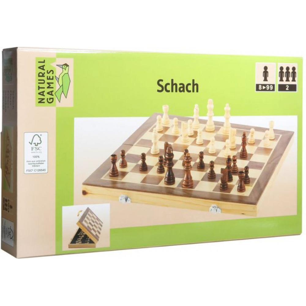 Σκάκι ξύλινο 40Χ40εκ.