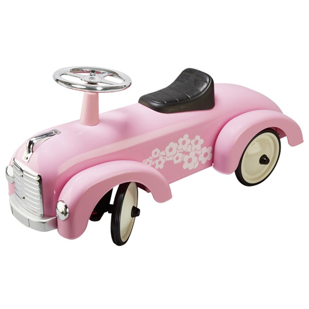 Αυτοκίνητο αγωνιστικό ποδοκίνητο ροζ