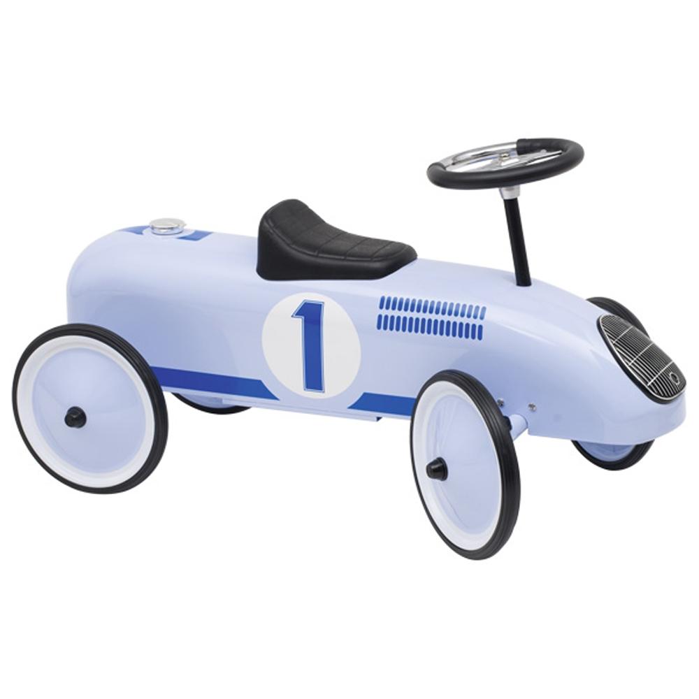 Αυτοκίνητο αγωνιστικό ποδοκίνητο Retro σιελ