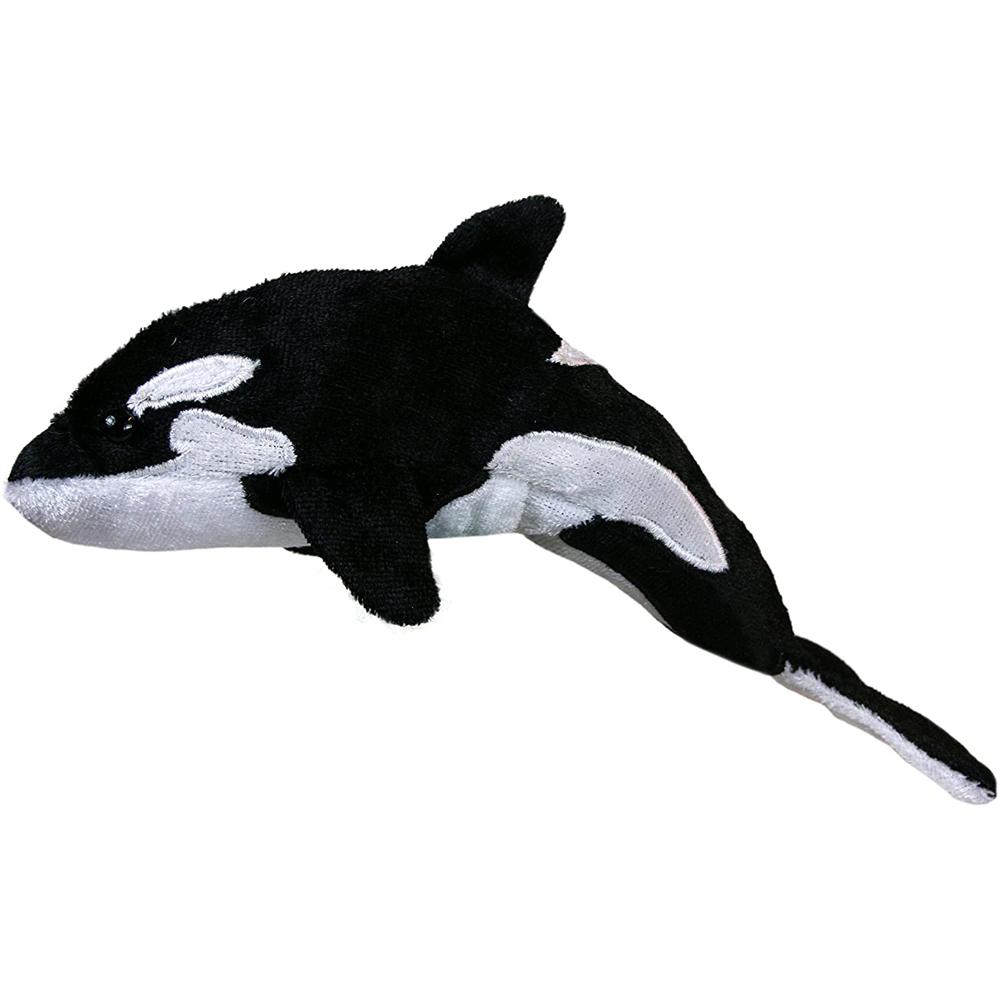 Δακτυλόκουκλα - Φάλαινα Όρκα 12εκ.